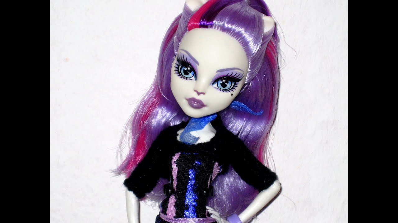 Catrine demew popular catrine demew doll buy cheap catrine demew doll - Monster High Catrine Demew Scaremester 2013 Doll Review Youtube