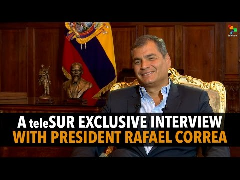 The Empire Files : Interview with Rafael Correa | President