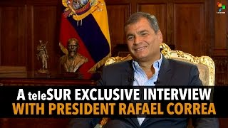 The Empire Files : Interview with Rafael Correa | President of Ecuador