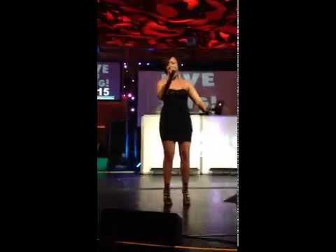 """Ryanne Noelle - """"Vision of Love"""" by Mariah Carey - Karaoke World Championship MN State Finals 2015"""