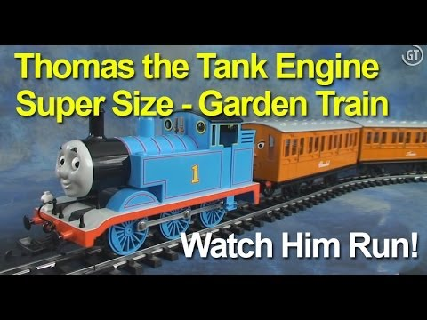Thomas the Tank Engine from Bachman Trains (Model Train Starter Set)