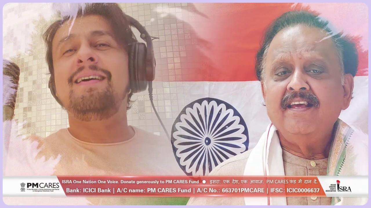 Jayatu Jayatu Bharatam One Nation One Voice Isra Youtube