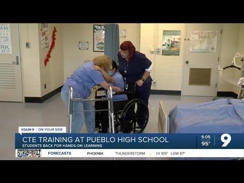 CTE training at Pueblo High School