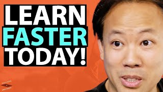Unleash Your SUPER BRAIN To LEARN FASTER & IMPROVE MEMORY| Jim Kwik & Lewis Howes