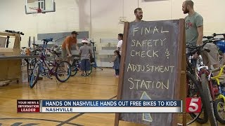 More Than 100 Kids Receive Bicycles