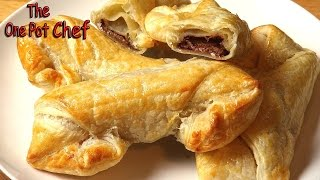 Cheaters Chocolate Croissants | One Pot Chef