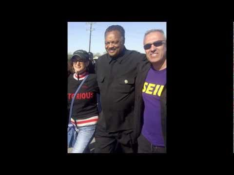 SEIU VP Marches for Equality