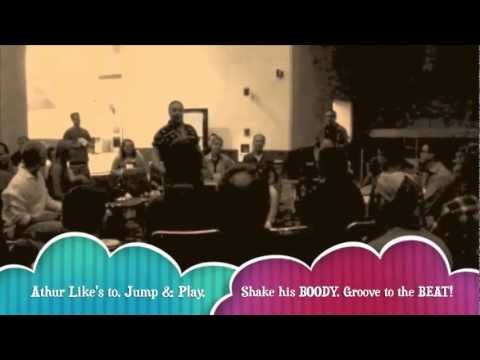 PASIC Drum Circle Jam with Jeff Stewart in Austin, TX