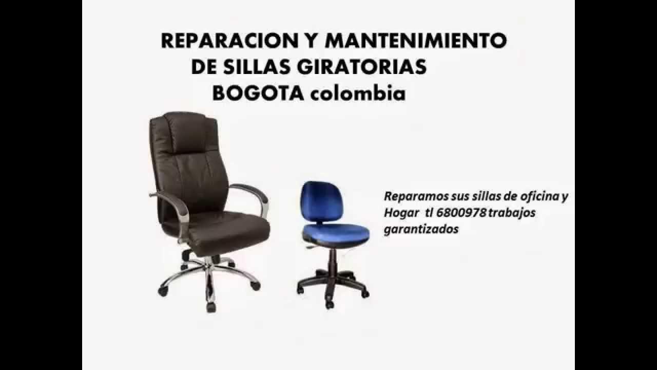 REPARACIÓN DE SILLAS DE OFICINA, SECRETARIALES, EJECUTIVAS - YouTube