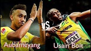 Aubameyang schneller als Bolt!?!