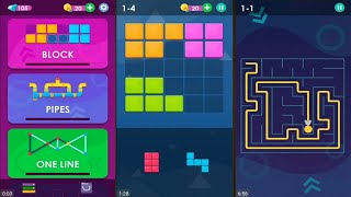 Smart Puzzles Collection (by WL Pixign Games) - puzzle games for android - gameplay.