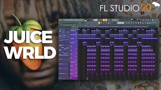 How To Create A Melodic Juice Wrld Type Beat From Scratch On FL Studio 20