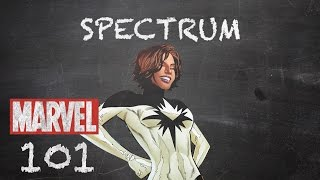 Justice at the Speed of Light – Spectrum – Marvel 101