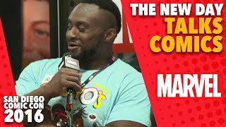 The New Day Talk All Things Marvel on Marvel LIVE! at San Diego Comic-Con 2016