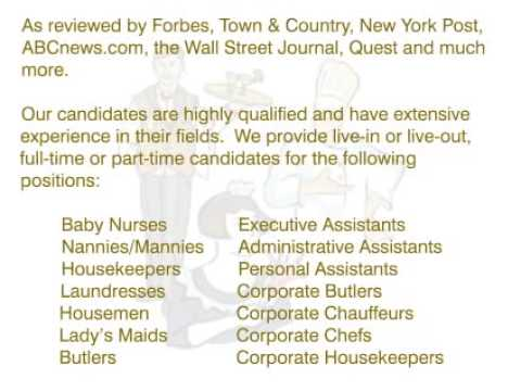 Celebrities Staffing Services