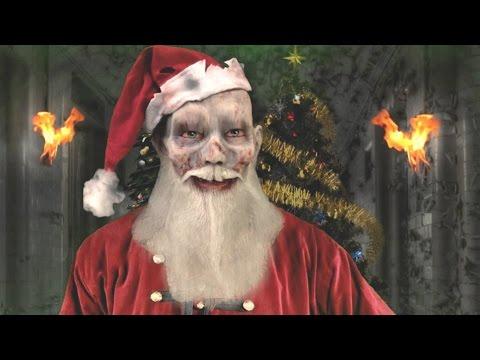Santa Zomb & Satan wish Merry Xmas