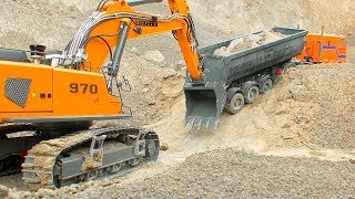 RC Model World! Unique RC Vehicles from Liebherr, Komatsu or Caterpillar! Amazing RC Action! thumbnail