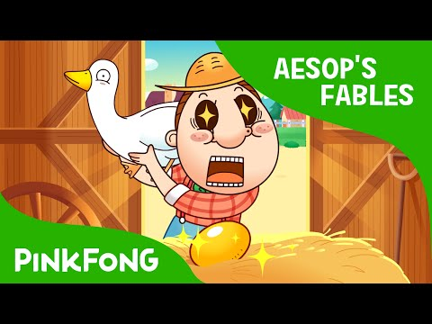 The Goose That Laid Golden Eggs | Aesop's Fables | PINKFONG Story Time For Children