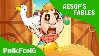 Video The Goose That Laid Golden Eggs | Aesop's Fables | PINKFONG Story Time for Children download MP3, 3GP, MP4, WEBM, AVI, FLV Maret 2018