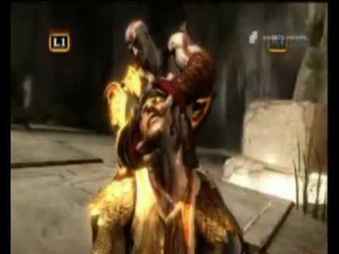 God of War 3 Death of Helios Legendado PT BR   - A Morte de Helios