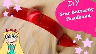 tutorial Cosplay - Star Butterfly Headband - DIY