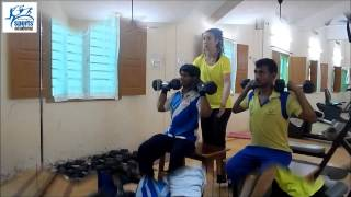 Gym Session : Preparation towards Special Olympics World games Los Angeles 2015