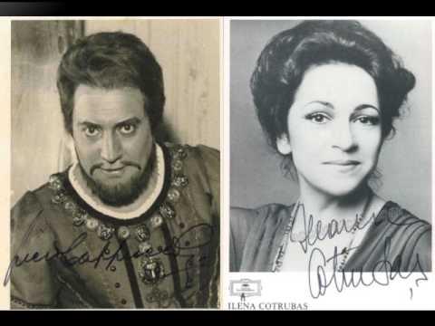 Ileana Cotrubas & Piero Cappuccilli. Duo Finale Act II. Rigoletto.