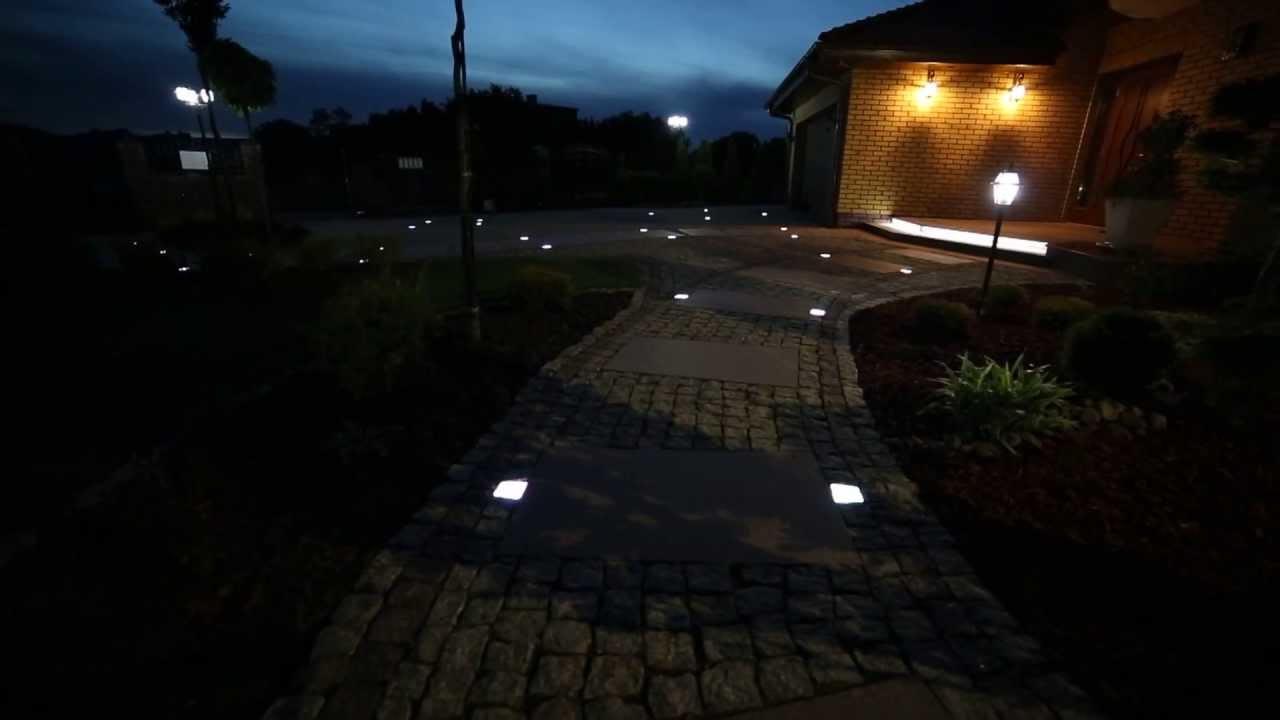 Ledbruk świecąca Kostka Brukowa Oświetlenie Do Kostki Brukowej Led
