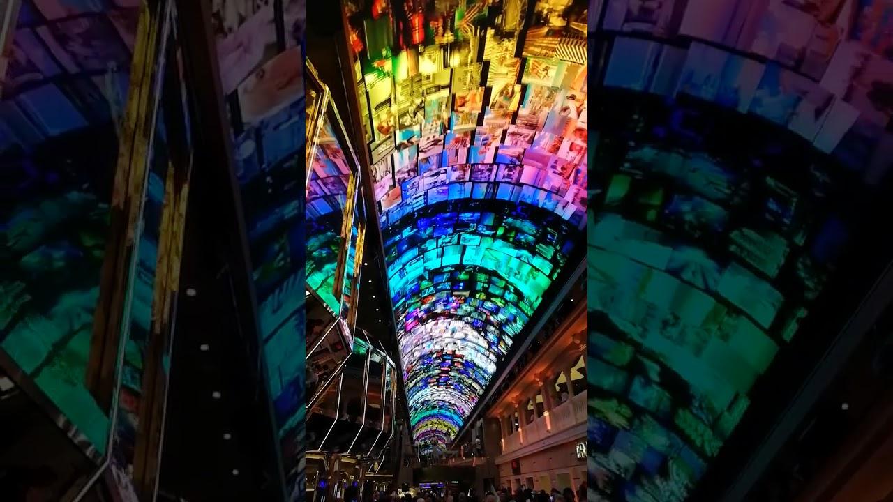 MSC Grandiosa LED Dome - YouTube
