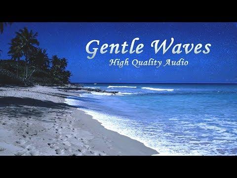 Deep Sleeping with Ocean Sounds - Gentle Waves at Night - 9 Hours