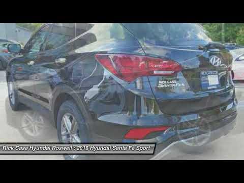 2018 Hyundai Santa Fe Sport RJH074494. Rick Case Hyundai Roswell