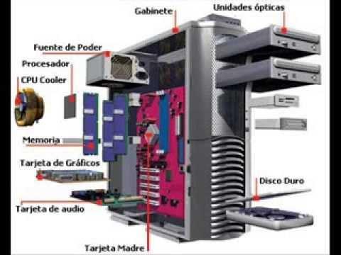 Partes y funciones de un computador. - YouTube