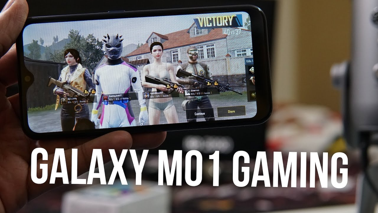 Samsung Galaxy M01 Gaming Review, PUBG Mobile Gameplay - Battery & Heating Test
