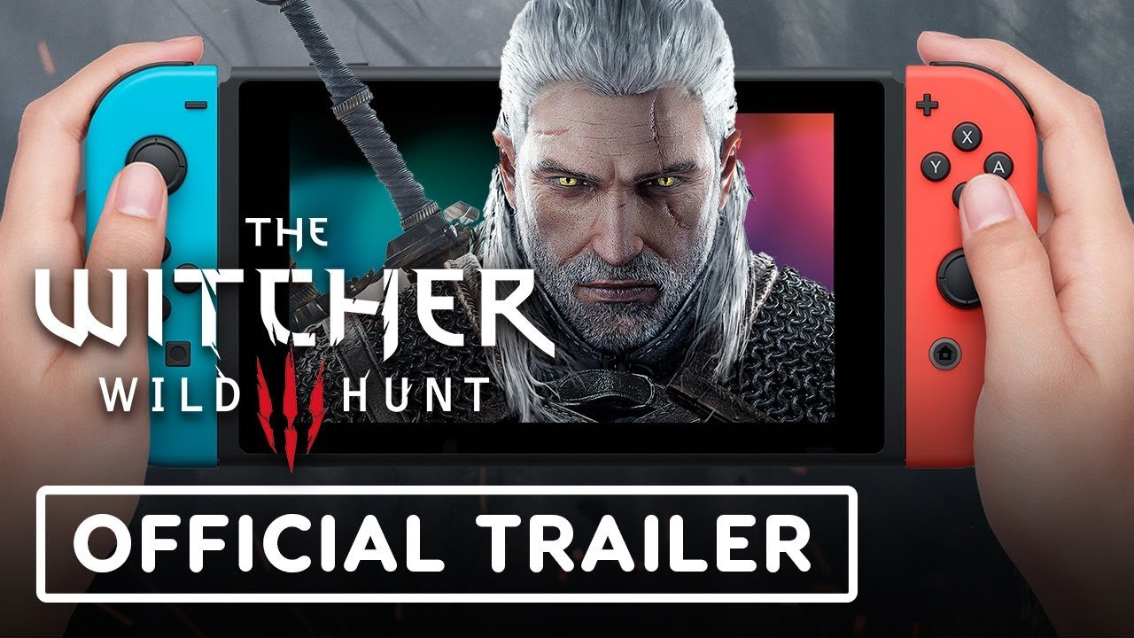 The Witcher 3 Nintendo Switch Trailer - E3 2019 + video