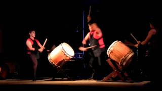 The incredible drumming of the Fubuki Daiko group thrilled both the...