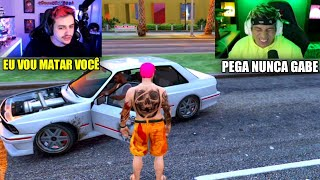CJ ROUBOU O CARRO DO GABE !!!