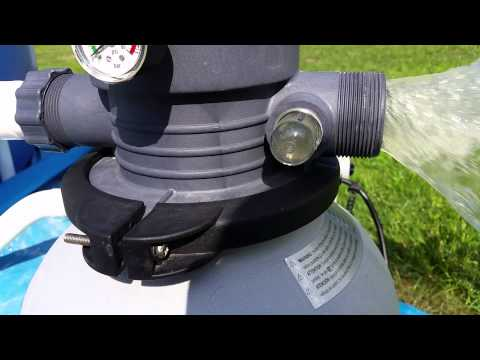 How To Backwash Intex Sand Filter Doovi