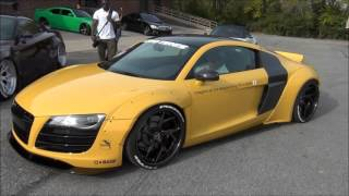 First WideBody Liberty Walk Audi R8 !!! // APAC Pre Sema Meet
