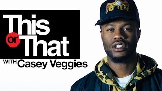 "Casey Veggies Plays ""This Or That"" 
