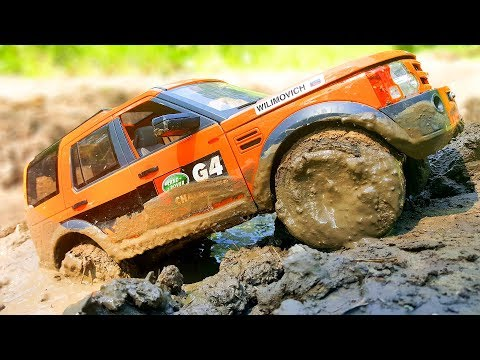 RC Car MUD and Water OFF Road — Land Rover Discovery LR3 MST