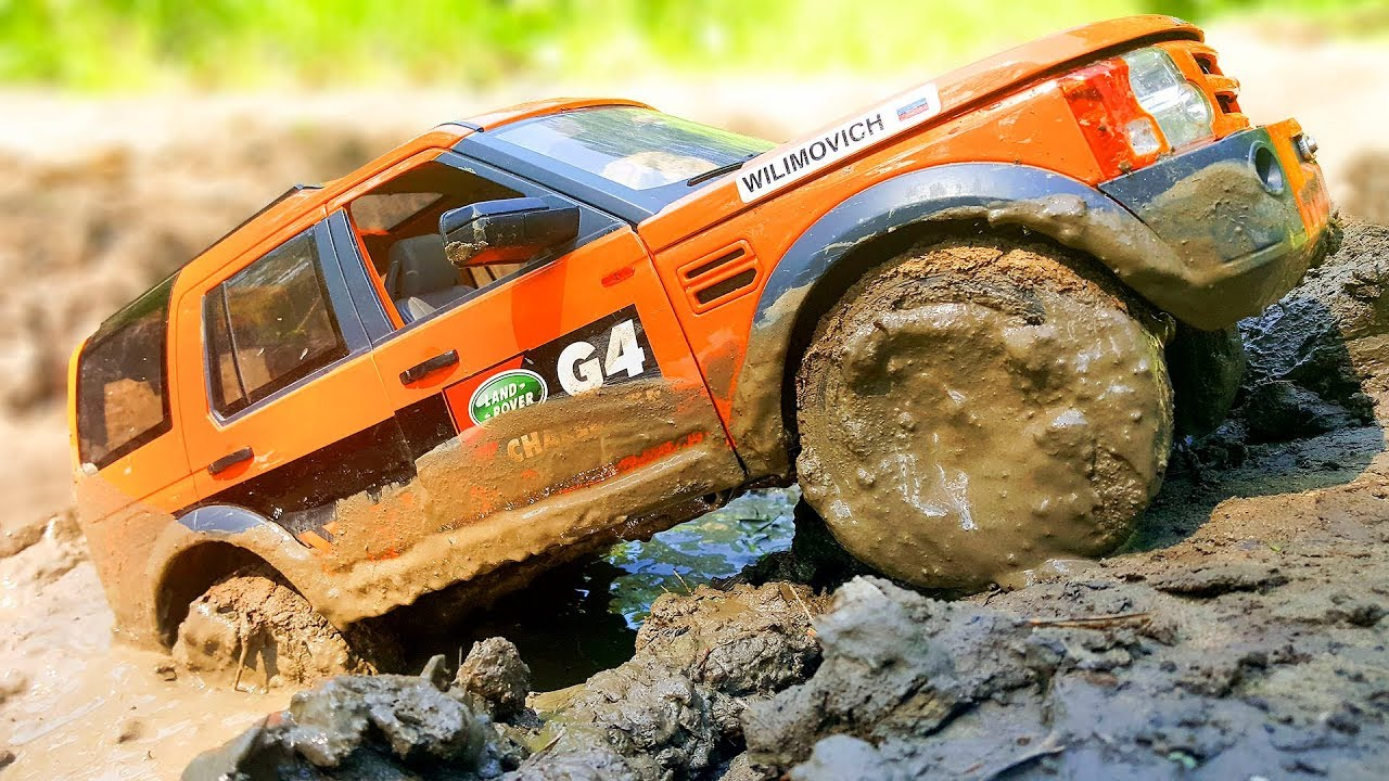 rc car mud and water off road land rover discovery lr3 mst cfx the blondies driver youtube. Black Bedroom Furniture Sets. Home Design Ideas