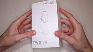 Беспроводные наушники QCYBER TWS v4 с очень громким звуком