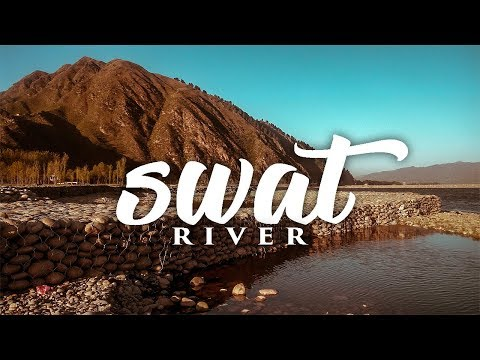 SUNSET & SUNRISE AT SWAT RIVER, MINGORA -- PAKISTAN -- TRAVEL VIDEO HD