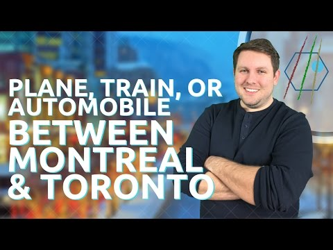 How to Travel Between Montreal & Toronto
