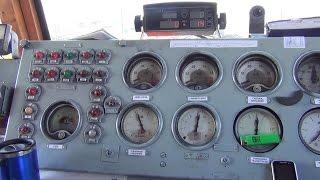 Из кабины электровоза ВЛ80К-548(Видео из кабины электровоза ВЛ80К-548 (приписан ТЧЭ-11 Тимашевская С-КАВ), следование под состав грузового поез..., 2015-01-20T11:00:09.000Z)