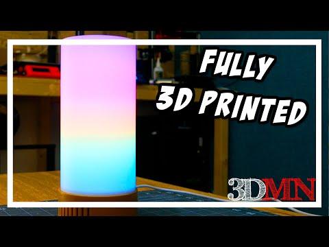Satisfying LED Mood Lamp - 3D Printing and Arduino DIY
