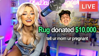 Donating $10,000 to Small Twitch Streamers - Challenge
