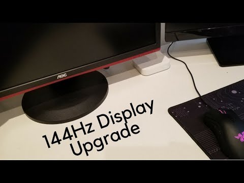 AOC G2460PF 144Hz Monitor Unboxing and Thoughts