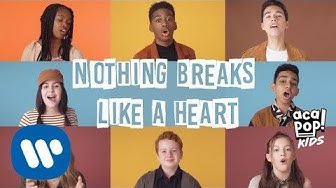Acapop! KIDS - NOTHING BREAKS LIKE A HEART by Mark Ronson ft. Miley Cyrus (Official Music Video)