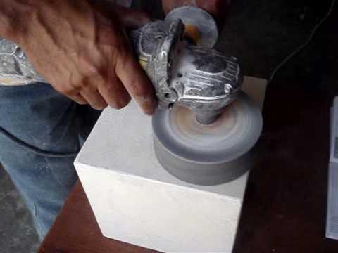 Pulido de marmol jgmarmol youtube for Como pulir marmol